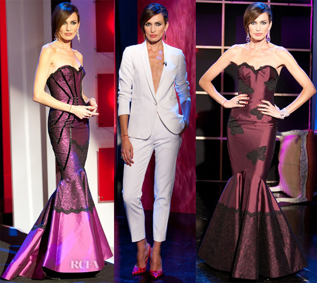 Nieves Alvarez In Zuhair Murad Couture, Andrew Gn & Pinko - Solo Moda2
