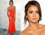 Nina Dobrev In Emilio Pucci - Art of Elysium Heaven Gala