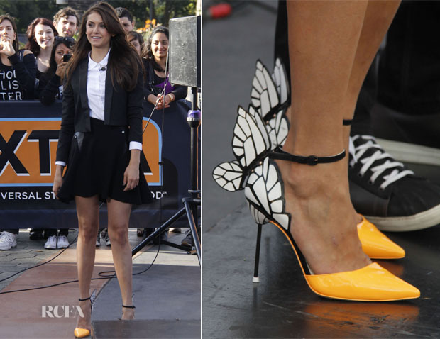 Nina Dobrev In The Kooples - Extra