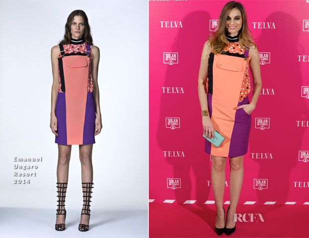Norma Ruiz In Emanuel Ungaro -  T de Telva Beauty Awards