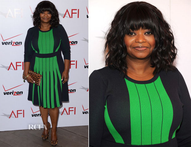 Octavia Spencer In Michael Kors - AFI Awards 2014