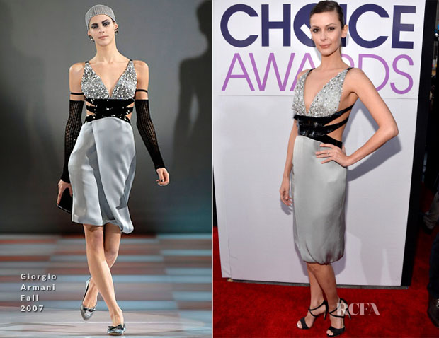 Olga Fonda In Giorgio Armani F2007– 2014 People's Choice Awards