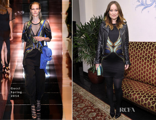 Olivia Wilde In Gucci - W Magazine 'Best Performances' Portfolio Celebration