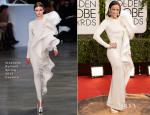 Paula Patton In Stéphane Rolland Couture - 2014 Golden Globe Awards