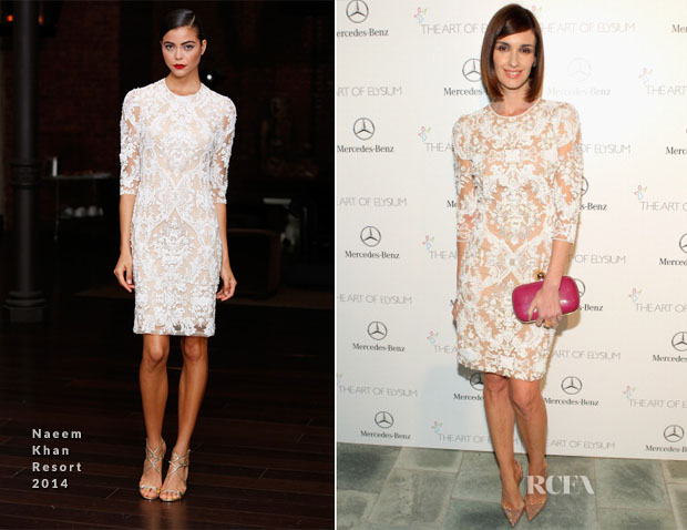 Paz Vega In Naeem Khan - Art of Elysium Heaven Gala
