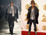 Pharrell Williams In Lanvin - The Night That Changed America: A Grammy Salute To The Beatles