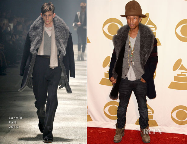 Pharrell Williams In Lanvin - The Night That Changed America A Grammy Salute To The Beatles