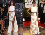 Rashida Jones In Fausto Puglisi - 2014 Golden Globe Awards