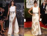 Rashida Jones In Fausto Puglisi - 2014 Golden Globe Awards