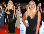 Rebecca Adlington In Amanda Wakeley - National Television Awards 2014