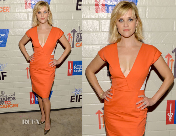 Reese Witherspoon In Roland Mouret - Hollywood Stands Up To Cancer