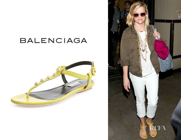 Reese Witherspoon's Balenciaga Studded Sandals