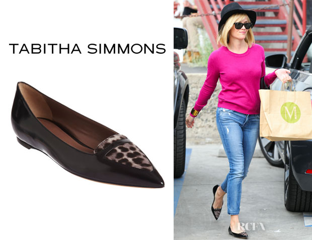 Reese Witherspoon's Tabitha Simmons 'Alexa' Flats