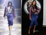 Rihanna In Lanvin - MAC Cosmetics Launches Viva Glam Rihanna