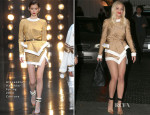 Rita Ora In Alexandre Vauthier Couture - Chateau Marmont