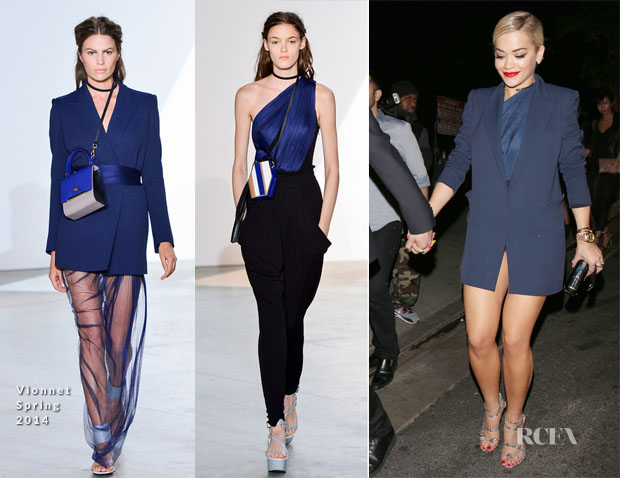 Rita Ora In Vionnet - Jay-Z's Pre Grammy Party