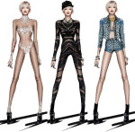 Roberto Cavalli Creates Miley Cyrus' 'The Bangerz World Tour' Wardrobe
