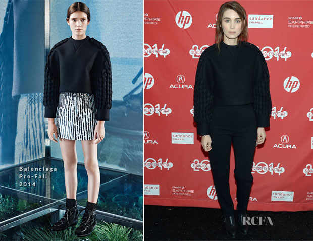 Rooney Mara In Balenciaga - 'The One I Love' Sundance Film Festival Premiere