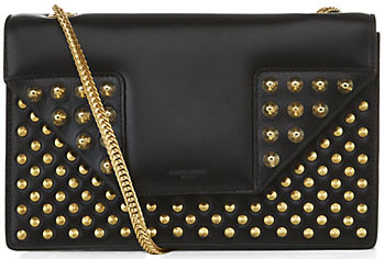 Saint Laurent Black Betty Studded Bag