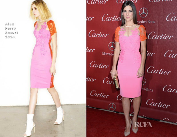 Sandra Bullock In Alex Perry - 2014 Palm Springs International Film Festival Awards Gala
