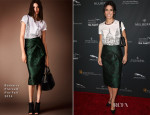Sandra Bullock In Burberry Prorsum - BAFTA LA 2014 Awards Season Tea Party