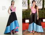Sandra Bullock In Prabal Gurung - 2014 Golden Globe Awards