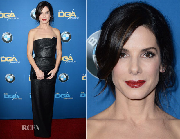 Sandra Bullock In Roland Mouret - 2014 Directors Guild Of America Awards