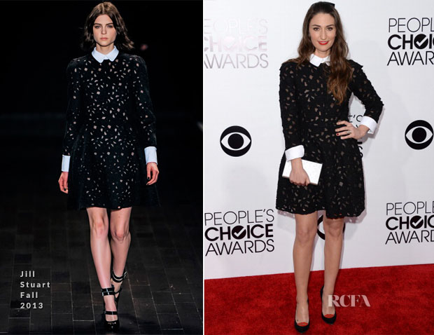 Sara Bareilles In Jill Stuart - 2014 People's Choice Awards