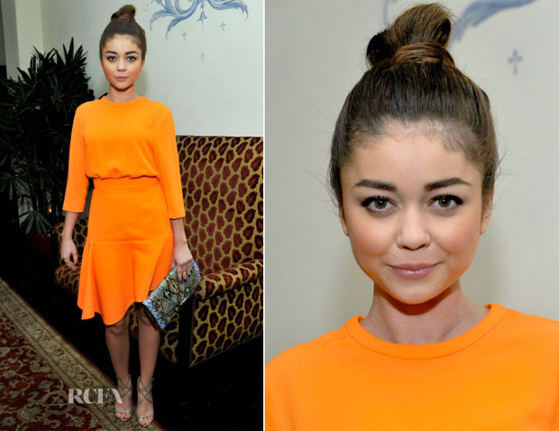 Sarah Hyland In Camilla and Marc - W Magazine 'Best Performances' Portfolio Celebration
