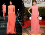 Sarah Hyland In Georges Hobeika Couture - 2014 Golden Globe Awards