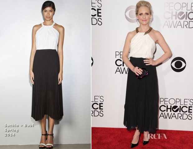 Sarah Michelle Gellar In Sachin + Babi - 2014 People's Choice Awards