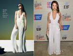 Selena Gomez In BCBG Max Azria - Hollywood Stands Up To Cancer
