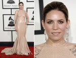 Skylar Grey In Michael Costello - 2014 Grammy Awards