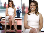 Sophia Bush In Dolce & Gabbana - The Today Show