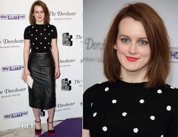 Sophie McShera In Topshop -  South Bank Sky Arts Awards