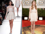 Taissa Farmiga In Elie Saab - 2014 Golden Globe Awards