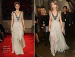 Taylor Swift In Alberta Ferretti - 2014 Grammy Awards Performance