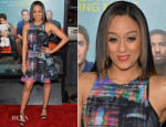 Tia Mowry In Nicole Miller - 'That Awkward Moment' LA Premiere