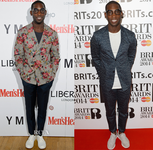 Black Men Fashion 2014 Tineh Tempah Fashion Week