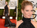 Uma Thurman In Atelier Versace - 2014 Golden Globe Awards