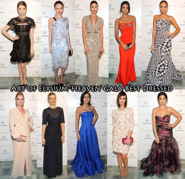 Who Was Your Best Dressed At The Art of Elysium 'Heaven' Gala