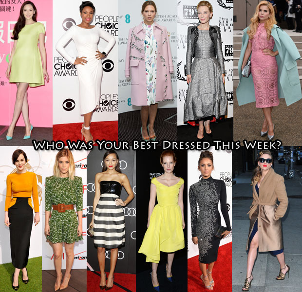 Who Was Your Best Dressed This Week 10 January 2014