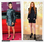 Who Wore Balmain Better...Lala Anthony or Lindsay Lohan?