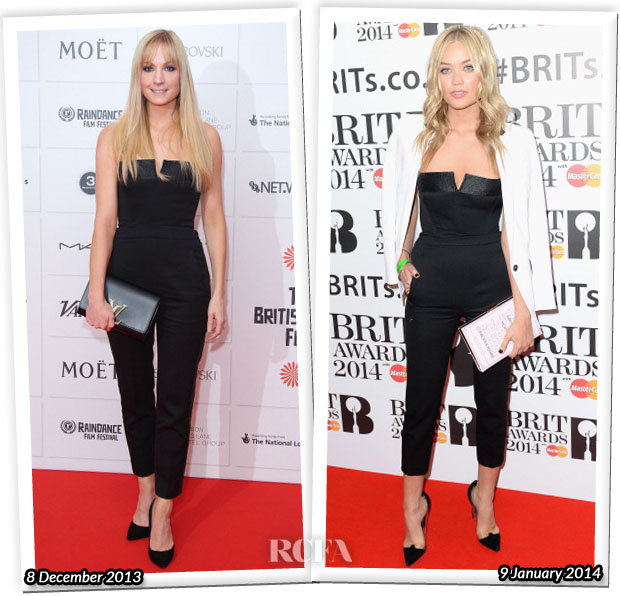 Who Wore The Kooples Better Joanne Froggatt or Laura Whitmore