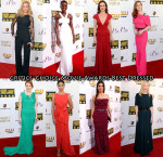 Who Was Your Best Dressed At The 2014 Critics' Choice Movie Awards?