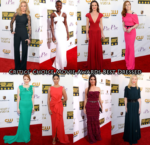 Who was Your Best Dressed At The 2014 Critics' Choice Movie Awards