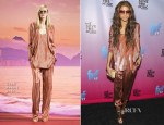 Zendaya Coleman In Gucci - Friends 'N' Family 17th Annual Pre-Grammy Party