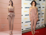 Zosia Mamet In Elisabetta Franchi - 'Girls' Season 3 London Premiere