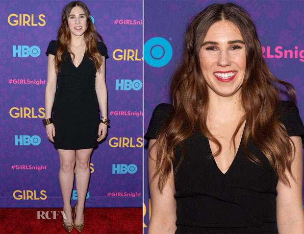 Zosia Mamet In Saint Laurent - 'Girls' Season Three Premiere