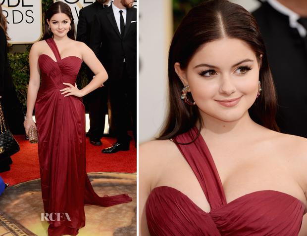Ariel Winter In Mikael D – 2014 Golden Globe Awards